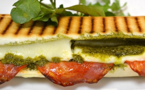 Tasty Lunchtime Panini