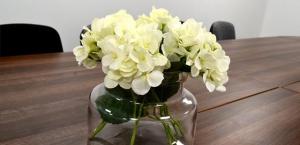 Meeting room flowers