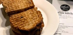 Office Canteen Beakfast Sandwich