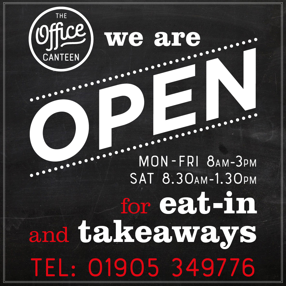 We are open for eat-in & takeaways